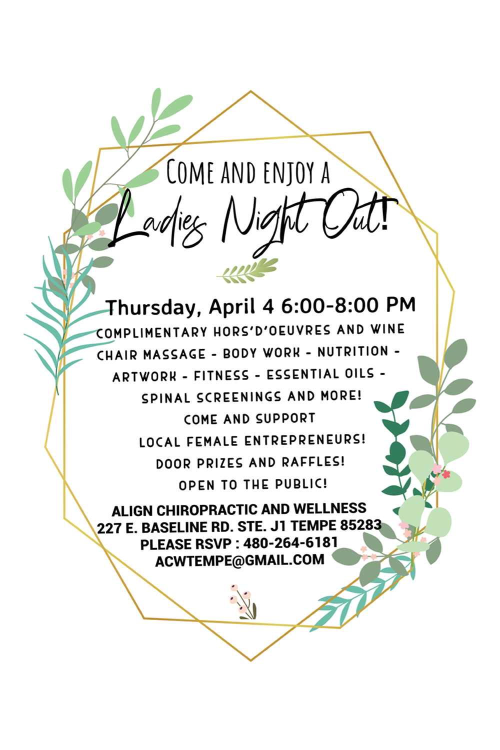 Ladies Night Align Chiropractic & Wellness